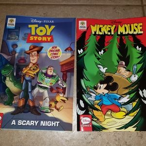 Disney Comics (new) Toy Story & Mickey Mouse